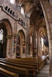 Interior de la iglesia de St Lawrence en Nurnberg Imagenes de archivo