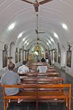 Interior de la iglesia de St Thomas Fotos de archivo