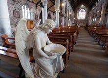 Interior de la iglesia del ángel del agua santa Imagen de archivo