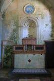 Interior de la iglesia del carmín, Erice Imágenes de archivo libres de regalías
