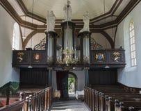 Interior de la iglesia Garnwerd Fotografía de archivo