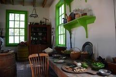 Interior de la mansión de Blennerhasset Imágenes de archivo libres de regalías