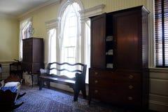 Interior de la mansión de Blennerhasset Imagenes de archivo