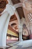 Interior de la mezquita de Hassan II Fotografía de archivo