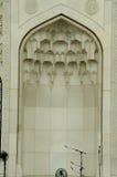 Interior de la mezquita a del territorio federal K un Masjid Wilayah Persekutuan Fotos de archivo