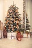 Interior de la Navidad Foto de archivo