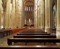 Interior de la nueva catedral foto de archivo libre de regalías
