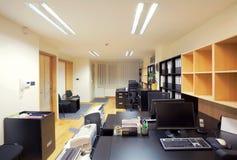 Interior de la oficina Fotografía de archivo