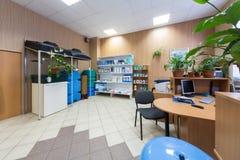 Interior de la oficina Imagen de archivo libre de regalías