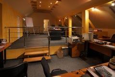 Interior de la oficina Foto de archivo libre de regalías