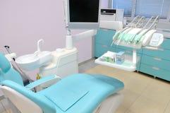 Interior de la oficina del dentista Imágenes de archivo libres de regalías
