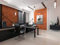 Interior de la oficina moderna Fotografía de archivo
