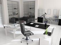 Interior de la oficina moderna Imagen de archivo libre de regalías