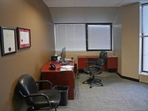 Interior de la oficina profesional Imágenes de archivo libres de regalías