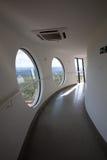 Dentro de la plataforma de la visión de la torre de Brasilia Digital TV Fotos de archivo libres de regalías