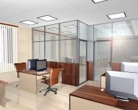 Interior de la premisa de oficina moderna Fotografía de archivo