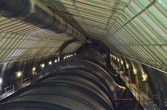 Interior de la Presa Hoover fotografía de archivo libre de regalías