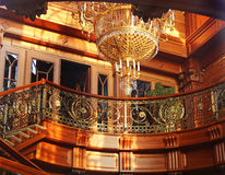Interior de la residencia de Mezhyhirya, Ucrania Foto de archivo libre de regalías