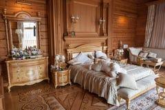 Interior de la residencia de Mezhyhirya, Ucrania Imagenes de archivo