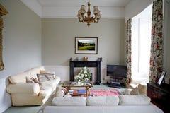 Interior de la sala de estar Fotos de archivo