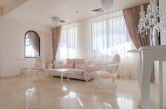 Interior de la sala de estar Imagen de archivo