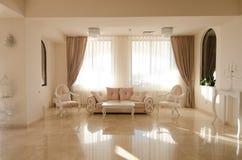 Interior de la sala de estar Fotos de archivo libres de regalías