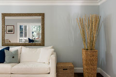 Interior de la sala de estar Fotografía de archivo