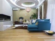 Interior de la sala de estar Foto de archivo