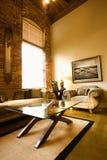 Interior de la sala de estar. Imagen de archivo libre de regalías