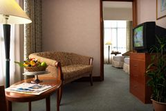 Interior de la sala de estar imagenes de archivo