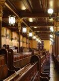 Interior de la sinagoga Imagenes de archivo