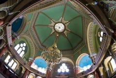 Interior de la sinagoga Imágenes de archivo libres de regalías