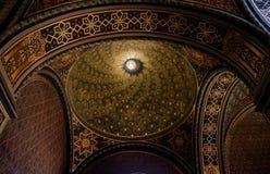 Interior de la sinagoga española, Praga - República Checa fotografía de archivo libre de regalías