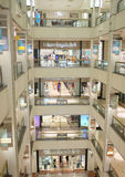 Interior de la tienda de Bloomingdale Foto de archivo