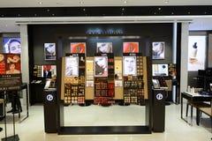 Interior de la tienda en nueva plaza de la ciudad Fotografía de archivo libre de regalías