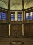 Interior de la torre de un mago libre illustration