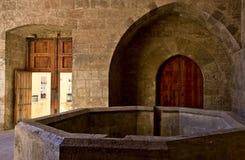 Interior de la torre del cuarto de galón en Valencia Imagen de archivo