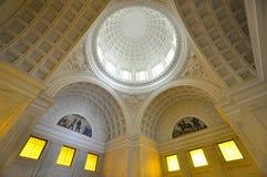 Interior de la tumba de Grant en New York City foto de archivo