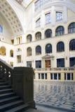 Interior de la universidad Imagen de archivo
