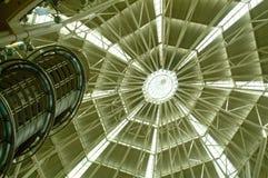 Interior de las torres gemelas Imagenes de archivo