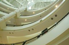 Interior de las torres gemelas Foto de archivo