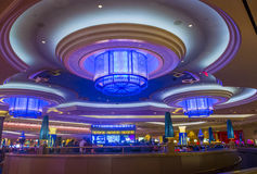 Interior de Las Vegas - de Palazzo Imagem de Stock