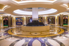 Interior de Las Vegas - de Palazzo imagenes de archivo