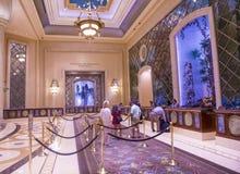 Interior de Las Vegas - de Palazzo Fotos de archivo