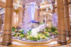 Interior de Las Vegas - de Palazzo Foto de Stock Royalty Free