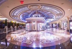 Interior de Las Vegas - de Palazzo Fotografia de Stock