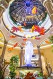 Interior de Las Vegas Palazzo Fotos de Stock Royalty Free