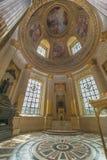 Interior de Les Invalides Foto de Stock