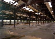 Interior de Liberty Park Immigration Train Station fotos de stock royalty free