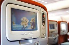 Interior de los aviones de Aeroflot A330 Foto de archivo